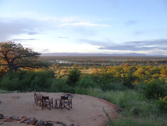 Ruaha National Park, Tanzânia: View from dining area
