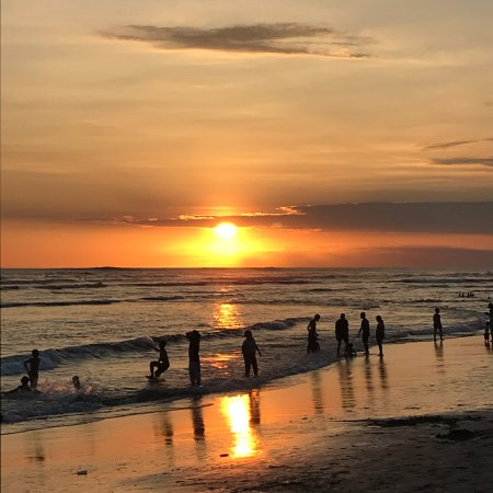 Canggu Beach: Canngu beach at sunset.