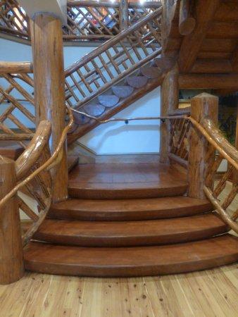 McCall, ID: Beautiful staircase