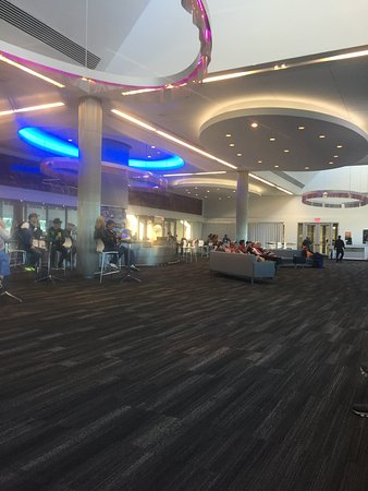 Circuit of The Americas: Lounge in Main Grandstand