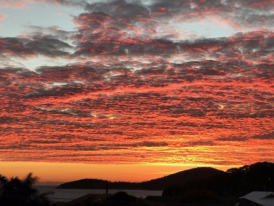 Port Stephens, Australia: Sunrise over Fingal Bay
