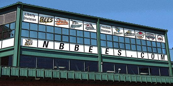 New Britain, CT: Outside listing of teams in the Atlantic League