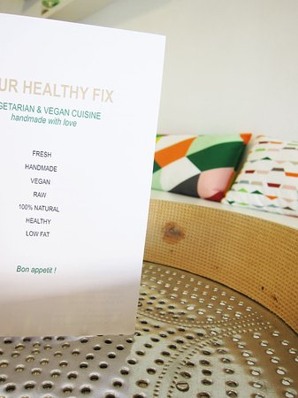Limassol District, Κύπρος: our menu: raw vegan specials handmade with love