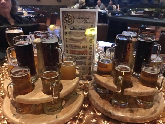 Feather Falls Casino Brewing Co.: Craft beer sampler