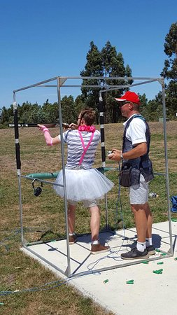 Gold Coast (Altın Sahil), Avustralya: Looking for a Bucks party idea? Come Clay Target Shooting.