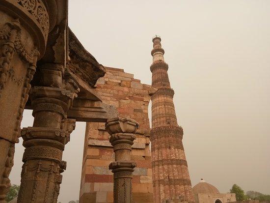 Qutb-minaretten-billede
