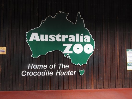 Australia Zoo: The front of the zoo