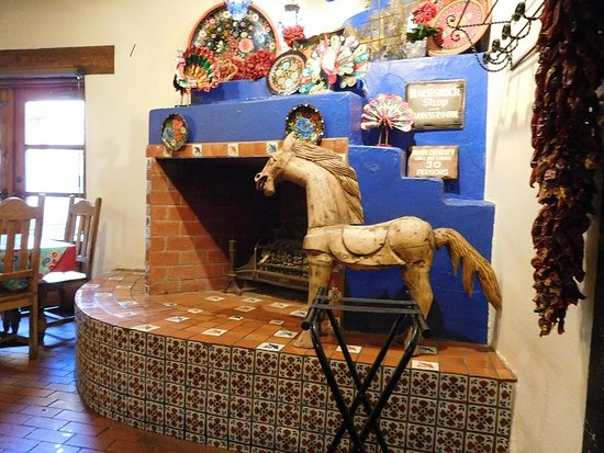 Mesilla, NM: La Posta Fireplace