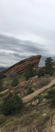 Red Rocks Park and Amphitheatre : Beautiful venue and area! Very cool to your it when there's not an event happening. Dinosaur Rid