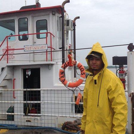Sainte Genevieve, MO: Ferry attendant