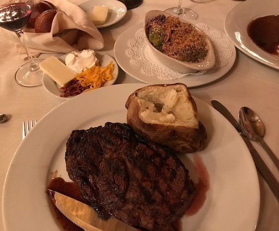 Mesilla, NM: Double Eagle RibEye
