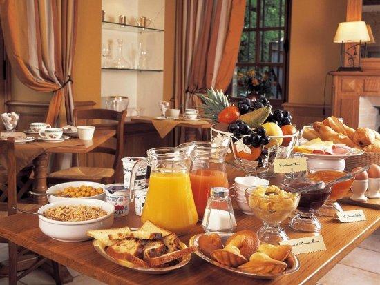 Hôtel-Restaurant du Tribunal : le petit-déjeuner