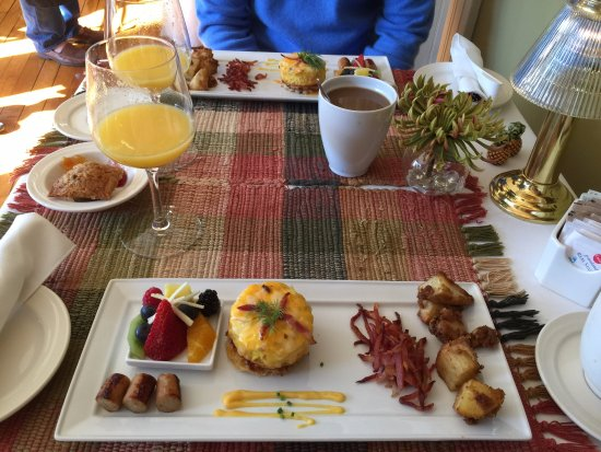 Historic Davy House B&B Inn: Davy B&B Delicious Breakfast