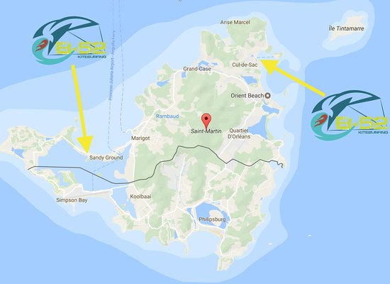 Marigot, Isla de San Martín: 1 school 2 spots