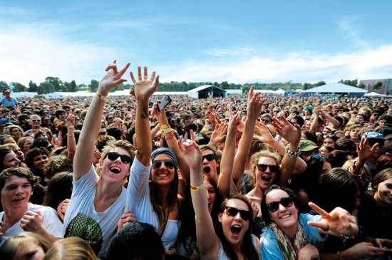Bendigo, Australia: Groovin' the Moo