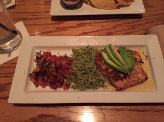 Morristown, Nueva Jersey: Chicken, avocado and rice.