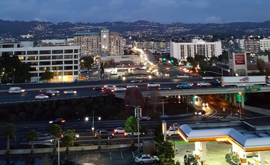 Emeryville, CA: view of I 580 from window