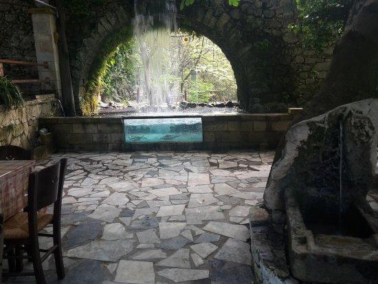 Argyroupolis, Greece: inside the tavern
