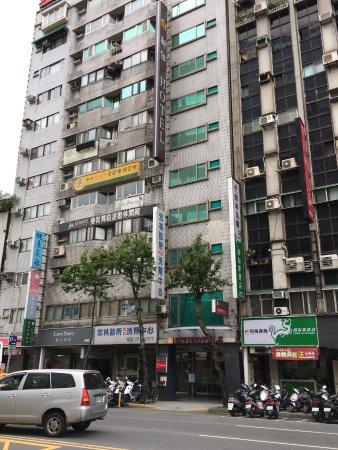 Shin Shih Hotel: 外観です