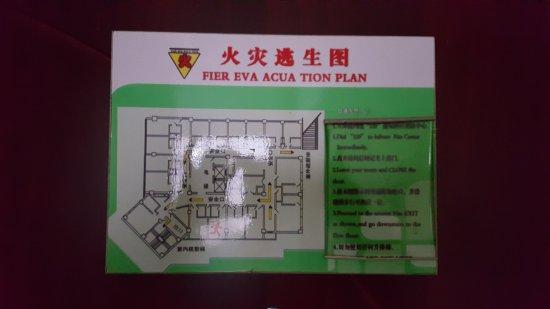 Dandong, Kina: 'Fier Eva Acua Tion' Plan