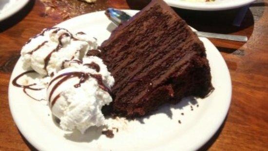 "Santa Fe Cattle Co: Big ""A"" Chocolate Cake"