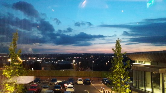 Hanley, UK: View from the restaurant