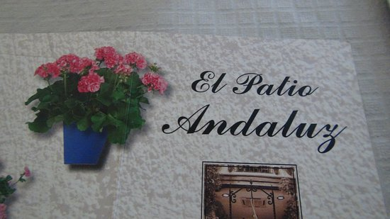 El Patio Andaluz : 旧市街の中 風情は楽しめます