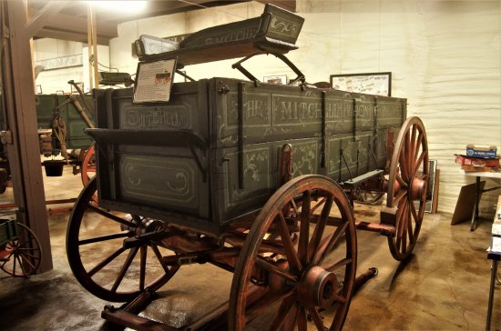 Boonville, MO: One of the early typical Michell wagons