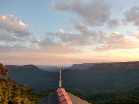 Echoes Restaurant - Blue Mountains: The view