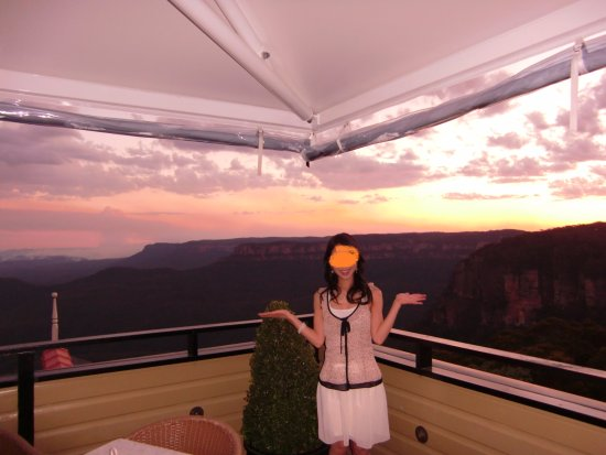 Echoes Restaurant - Blue Mountains : The view