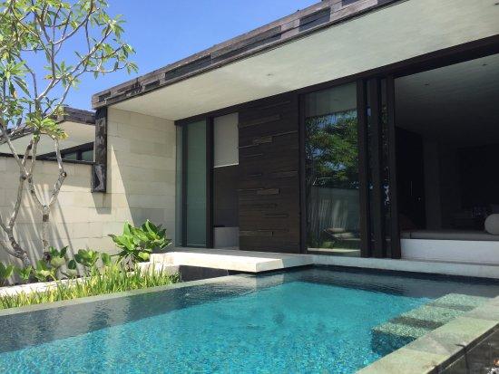 Private swimming pool picture of alila villas uluwatu for Private swimming pool