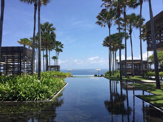 Resort scenery in ALILA Villas Uluwatu, BALI, Indonesia