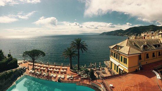Hotel Cenobio Dei Dogi : Aussicht von Klassikzimmer mit Meerblick