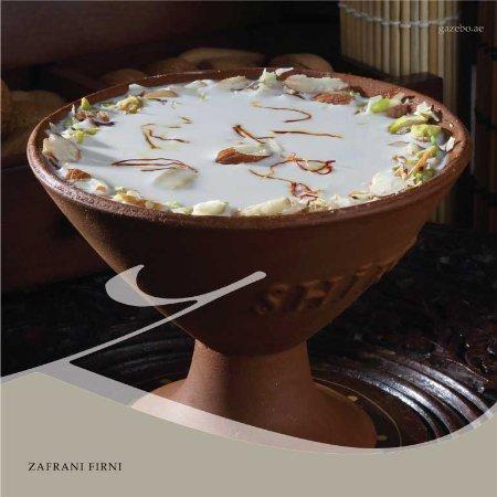 Gazebo Restaurant: Zafrani Firni