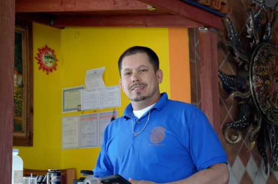 Boonville, MO: I shot a photo of the owner, Carlos Hernandez