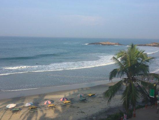 Lighthouse Beach: Фото из окна отеля
