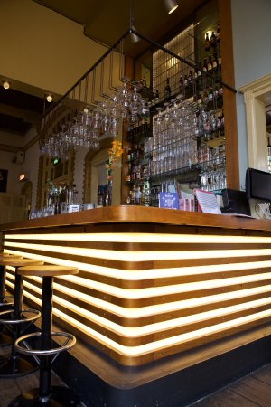 retro moderne bar picture of stadscafe de spaarbank tilburg