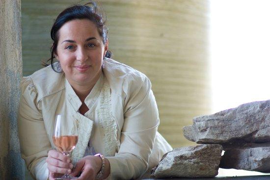 St Chamas, France: Marie-Laure Merlin, la vigneronne de Suriane
