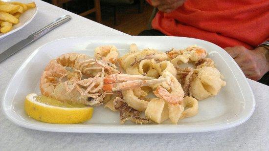 Cupramontana, Italy: Frittura di mare