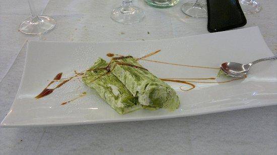 Cupramontana, İtalya: Semifreddo al pistacchio