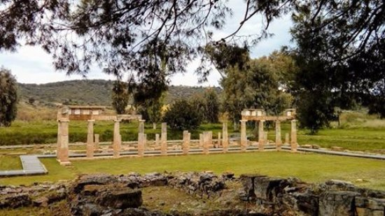 Attica, Grecia: Το ιερό της Αρτέμιδος