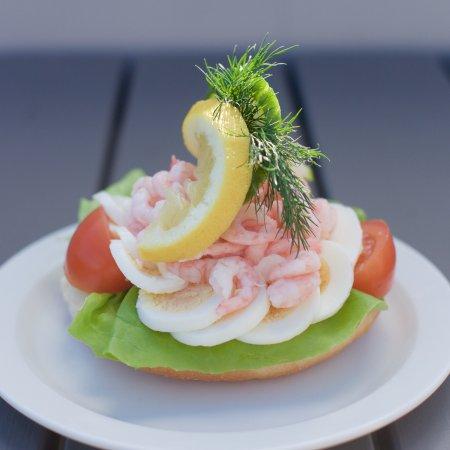 Stavsjo, Schweden: Räksmörgås