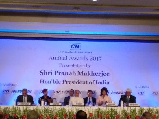 ITC Maurya, New Delhi : CII Annual award ceremony