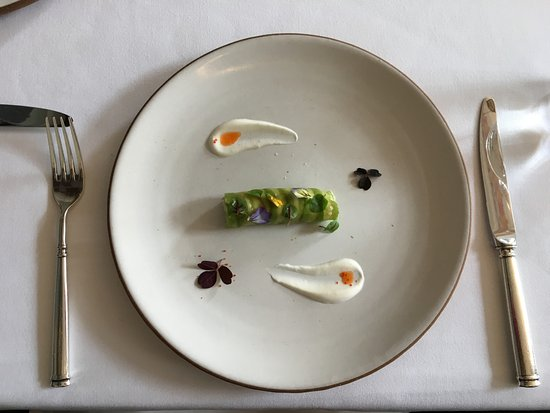 Eleven Madison Park: Famous in 2007: Prawn Roulade with Avocado and Yogurt