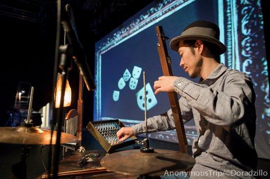 豊島ウサギニンゲン劇場, a hand-made musical instrument