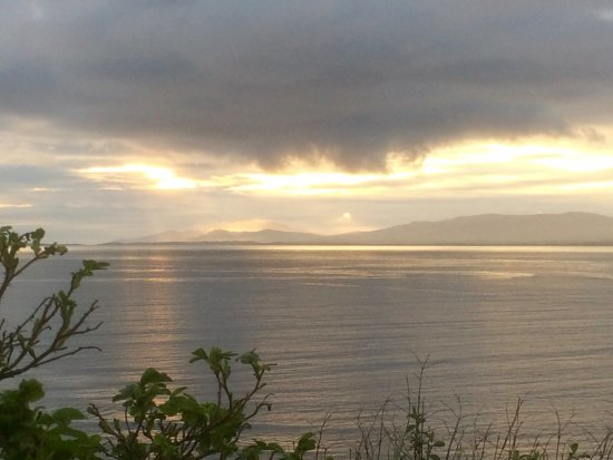 Rossnowlagh, Ireland: View from Mary's garden