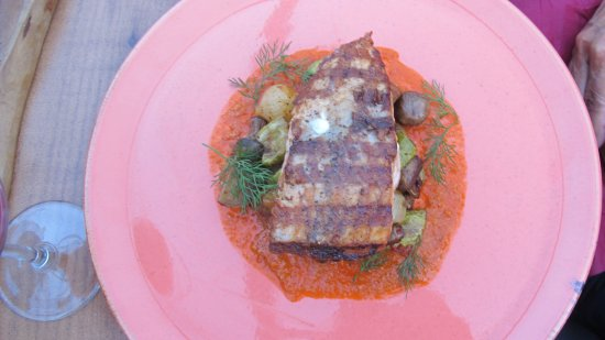 Pukka Beach: Salmon cooked to perfection. Very tasty.