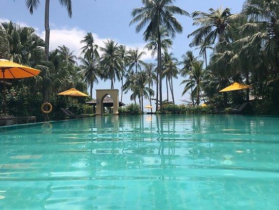 The Passage Samui Villas & Resort: Right outside room 308