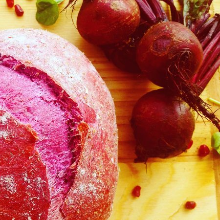 Letchworth, UK: Our Signature Beetroot Bread