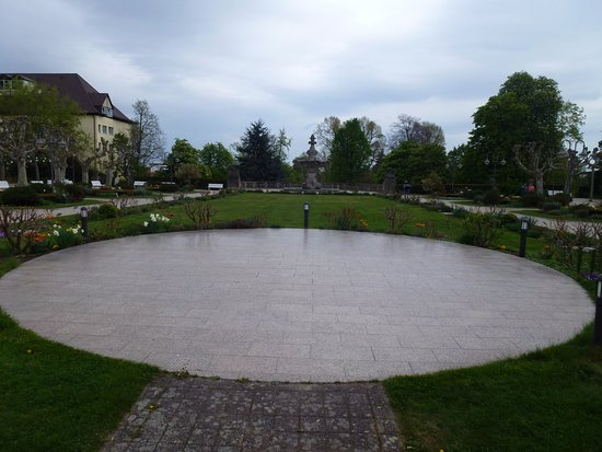 Bad Dürkheim, Deutschland: Starting with the pond
